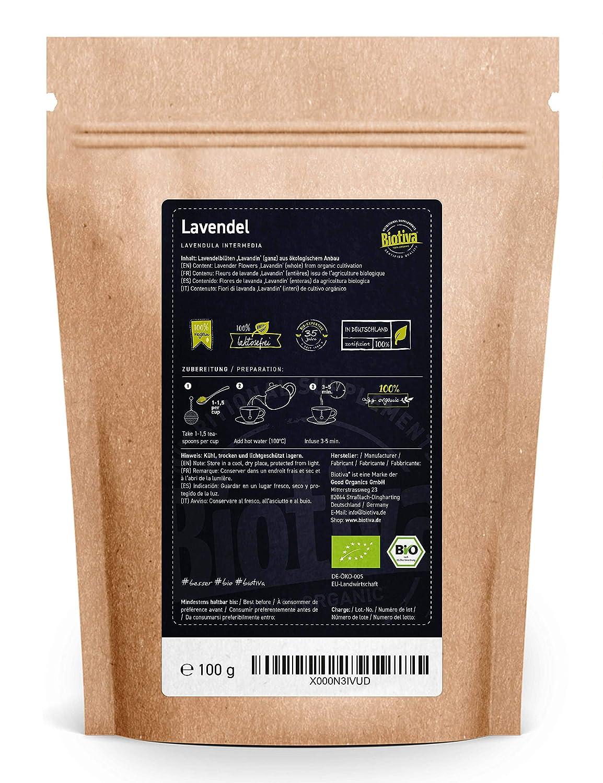 nat/ürlicher Deodorant Bio-Lavendel-Knospen f/ür Zuhause Textil Wuyue Hua Lavendelbeutel 6 Bags Mottenabwehr und frischer Lavendelduft