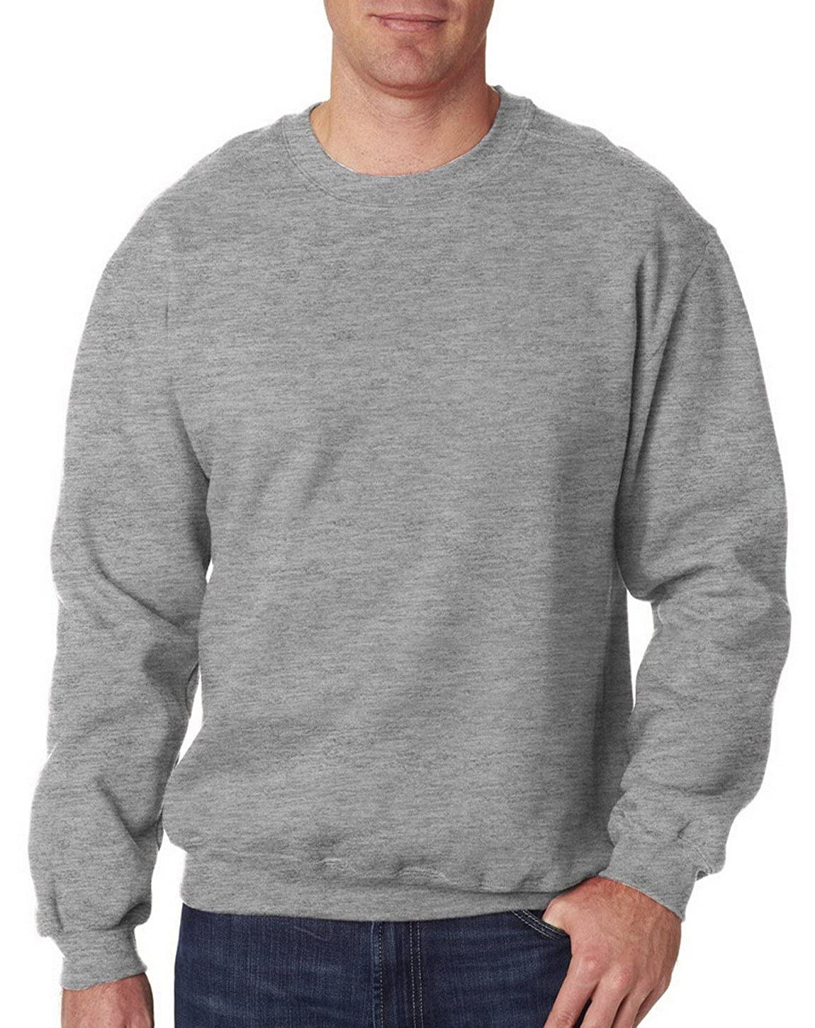 Fashion Gildan 92000 Adult Premium Cotton Crew Neck Sweatshirt