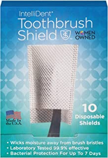 product image for Intellident Antimicrobial Toothbrush Shields 10ct Pack of 2