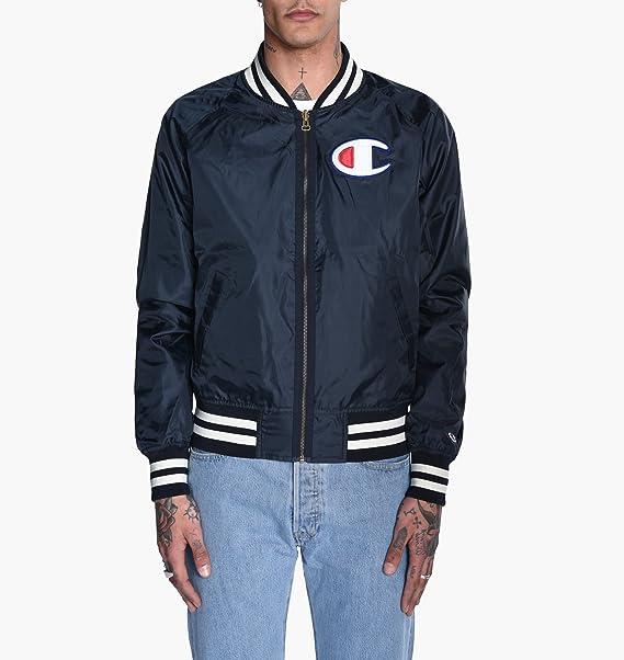 Champion Reverse Weave Herren Jacke Jacket, Mehrfarbig (Navy