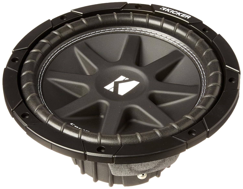"Amazon.com: Kicker 43C104 Comp 10"" 300 Watt SVC 4-ohm Car Audio Subwoofer  Woofer Sub C104: Cell Phones & Accessories"