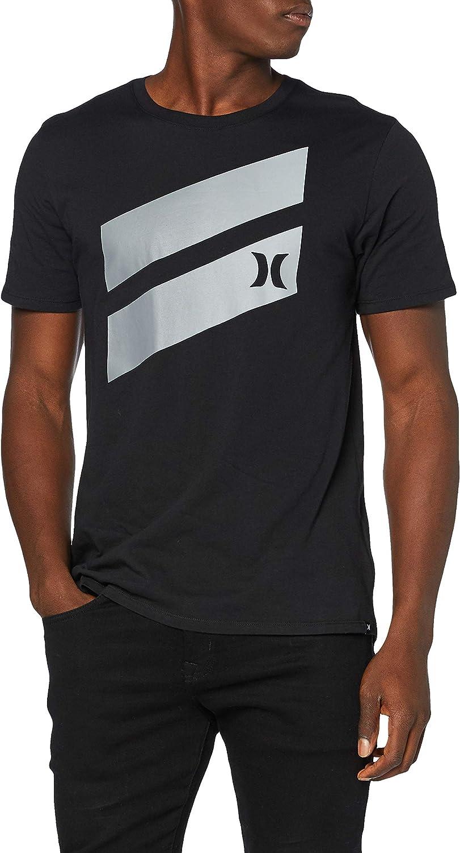 Hurley M Icon Slash Gradient S/S tee Camiseta Hombre