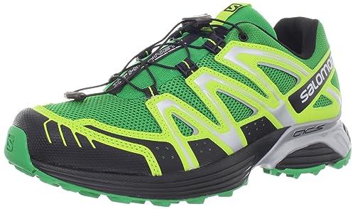 sneakers for cheap 481fa 6a6db Salomon Men s XT Hornet Trail Running Shoe,Clover Green Pop Green Black,