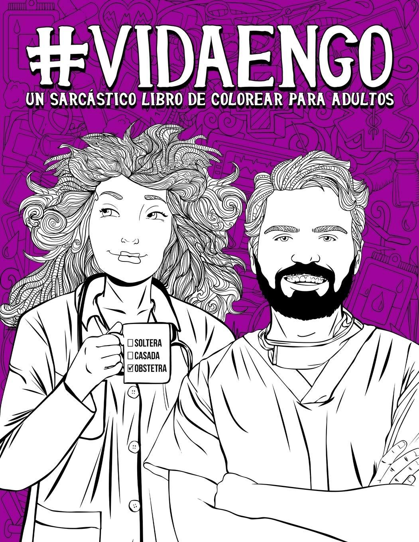 Vida en GO: Un sarcástico libro de colorear para adultos: Un ...