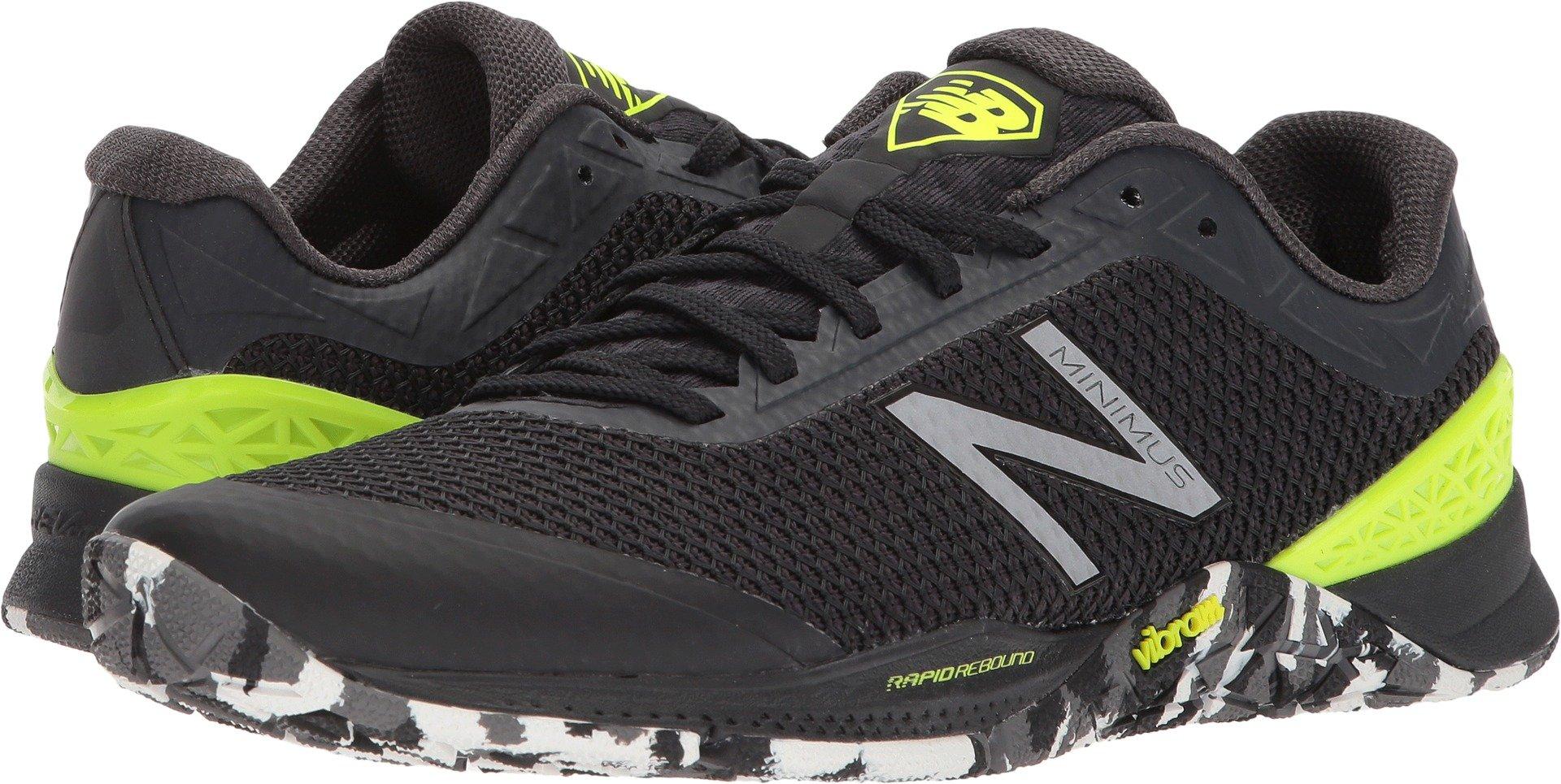 New Balance Men's 40v1 Minimus Training Shoe, Black, 9.5 D US