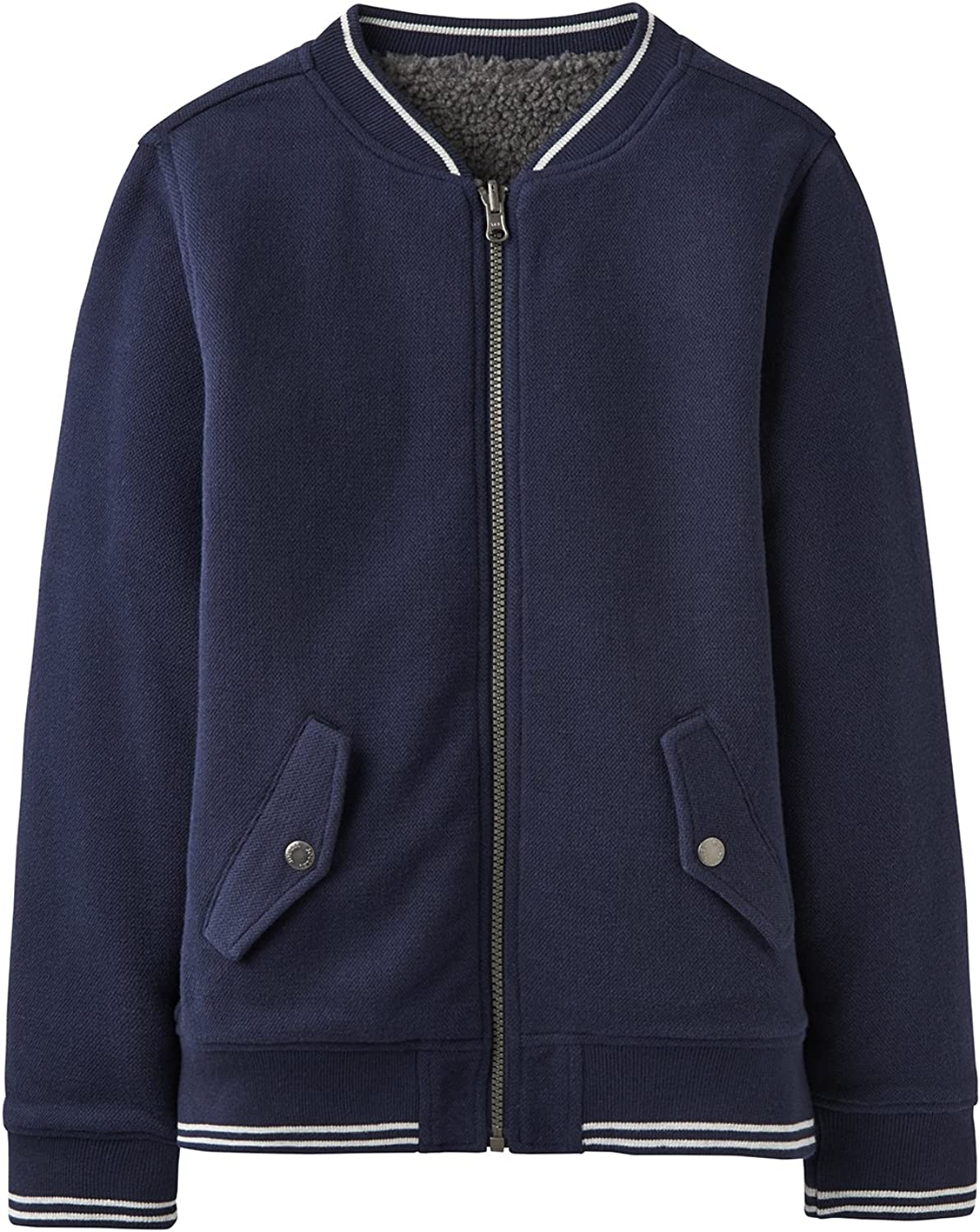 French Navy Joules Reversible Bomber Jacket