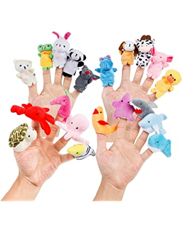 Amazon Com Finger Puppets Toys Games