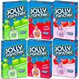Jolly Rancher Singles To Go Drink Mix Variety Set -- 36 Singles Packs, Sugar Free (Cherry, Green Apple, Watermelon) (3 Flavor Variety Pack)