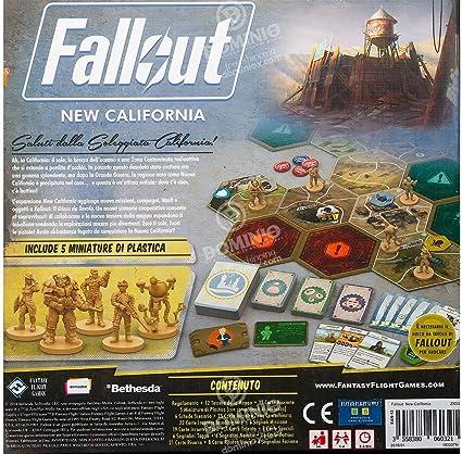 Asmodee Italia Fallout New California 9811 - Juego de Mesa: Amazon.es: Juguetes y juegos