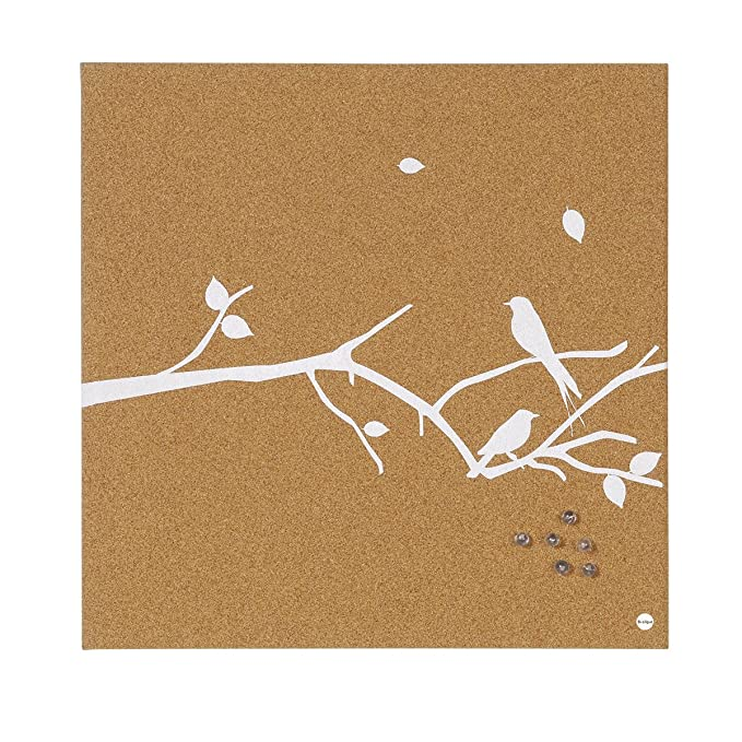 40x40 Bi-Office SF751269397 Bacheca bianca Swallow 02 in Sughero