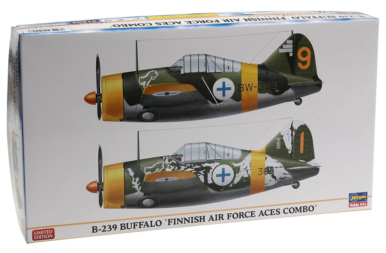 ハセガワ 1/72 B-239 バッファロー フインランド空軍 エーセスコンボ 2機セット B007D332KC