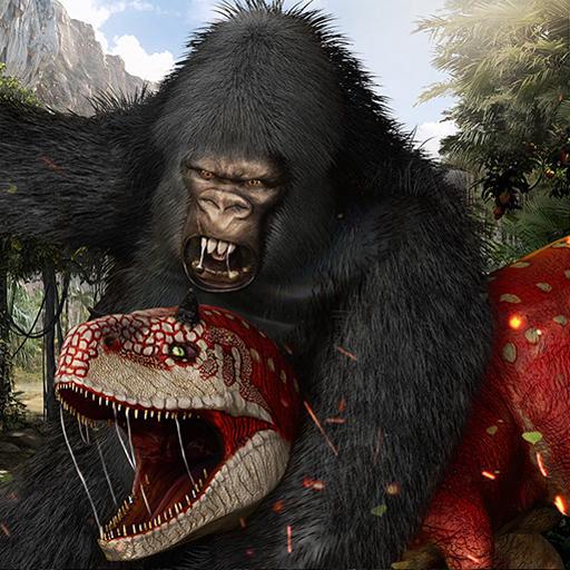 Apes Gangs War In Vegas City Gangster Crime 3D: Rules Of Survival Jungle Hero Wild Kong Gorilla Planet Simulator Games Free For Kids 2018