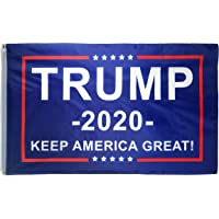 DFLIVE Donald Trump for President 2020 Keep America Great Flag 3x5 Feet with Grommets