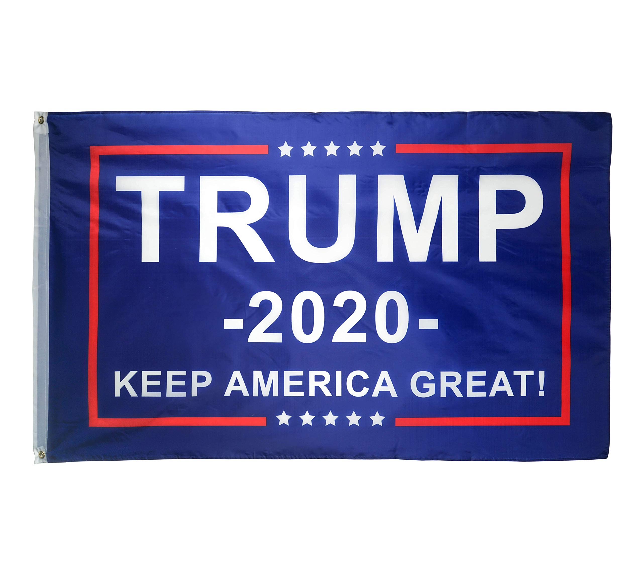 DFLIVE Donald Trump For President 2020 Keep America Great Flag 3×5 Feet With Grommets