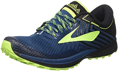 0021322ed21 Brooks Men s Mazama 2 Blue Black Nightlife 7.5 ...