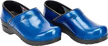 Sanita Professional Alana Closed Clog Original Handmade Flexible Leather Clog for Women