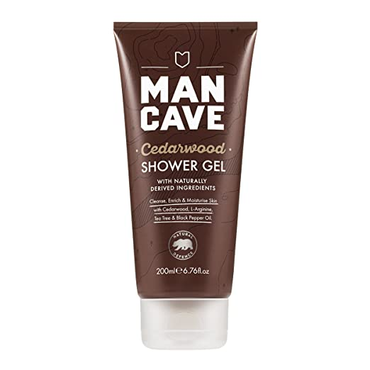 ManCave Natural Cedarwood Shower Gel 200ml