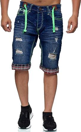 Bermudas De Hombre Para El Verano Pantalones Cortos Con Bolsillos Y Costuras Gruesas Pantalon Corto Deportivo Para Hombre Pantalones En Diseno Moderno Pantalones Cortos Amazon Es Ropa Y Accesorios