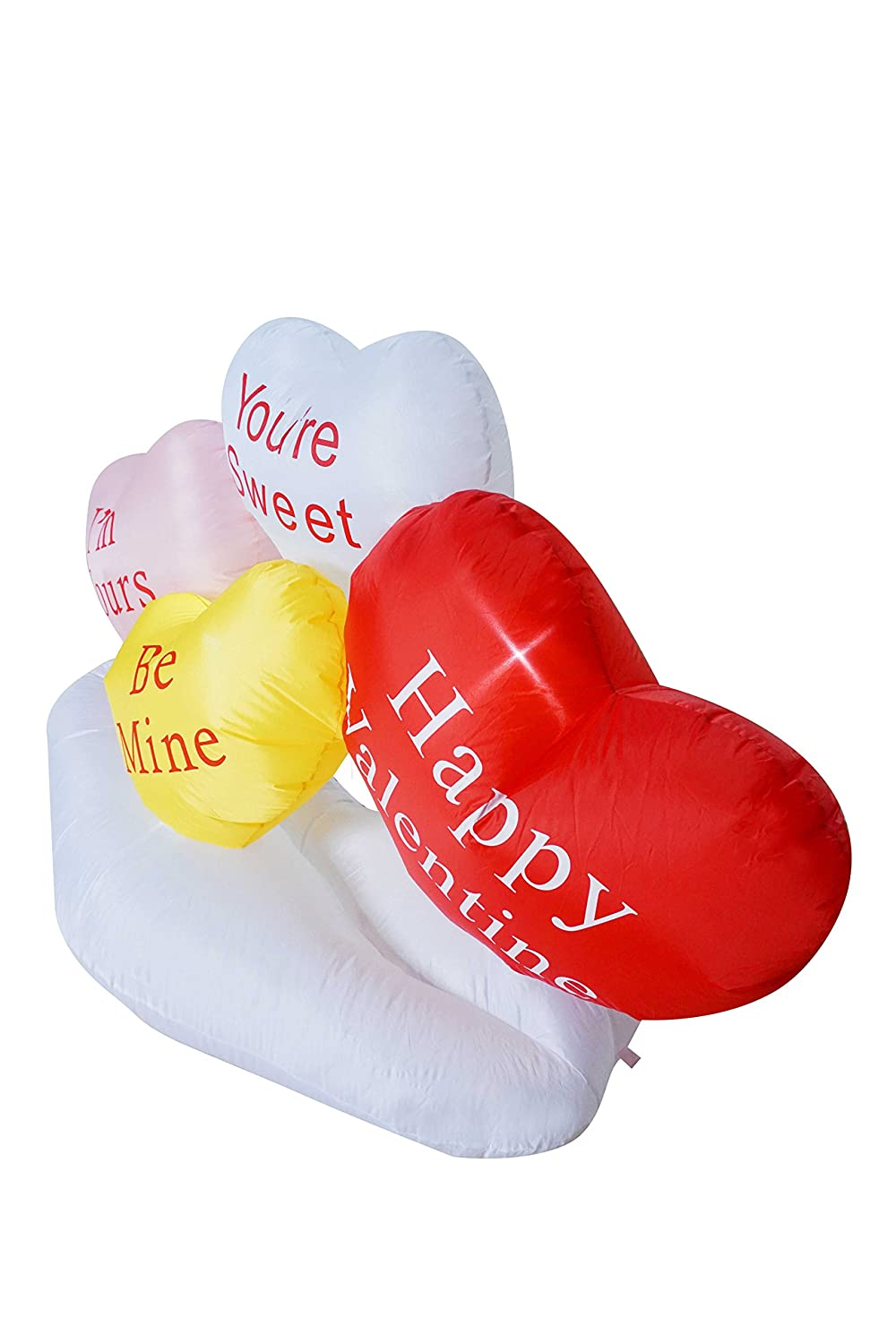 a41524e100c61 SEASONBLOW 4 Ft Inflatable Birthday The Frog Prince Be My Valentine ...
