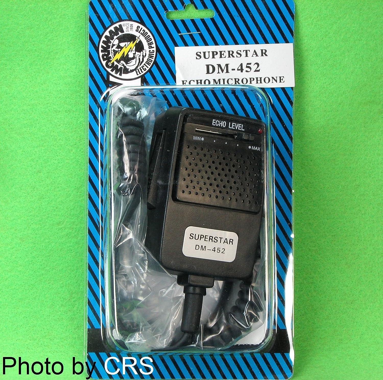 CB Radio ECHO//Power Mic//Microphone with 4 pin plug Workman DM452