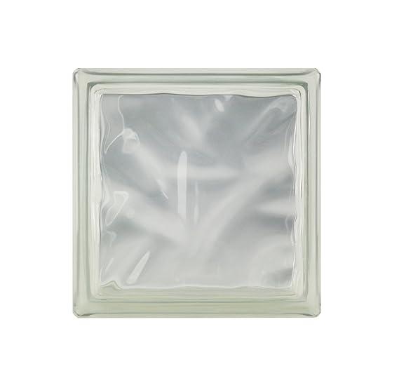 5 St/ück FUCHS Glassteine Wolke T/ürkis 19x19x8 cm