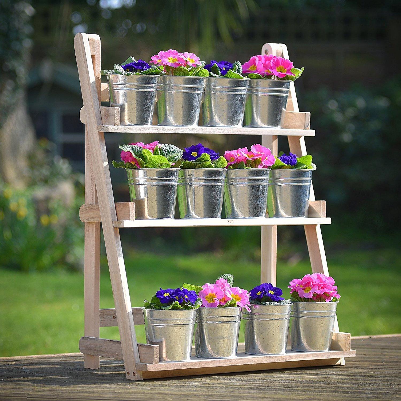 Présentoir à 3 étages pour plantes aromatiques
