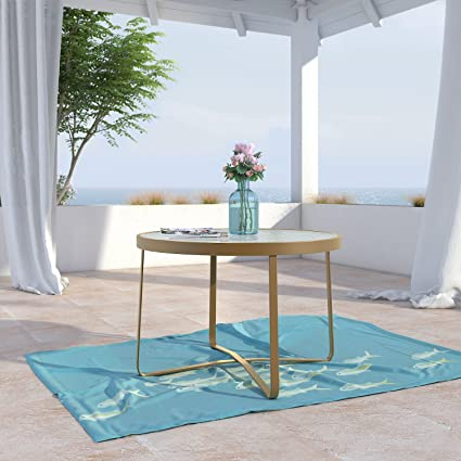 Miraculous Elle Decor Odtb10006A Mirabelle Outdoor Coffee Table Gold Short Links Chair Design For Home Short Linksinfo