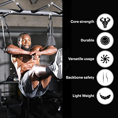 Ab Hanging Straps Fitness Equipment Arm Support Abdominal Workout Core Strength