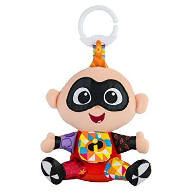 Lamaze Disney/Pixar Clip & Go Jack Jack Clip-On Stroller Toy : Baby