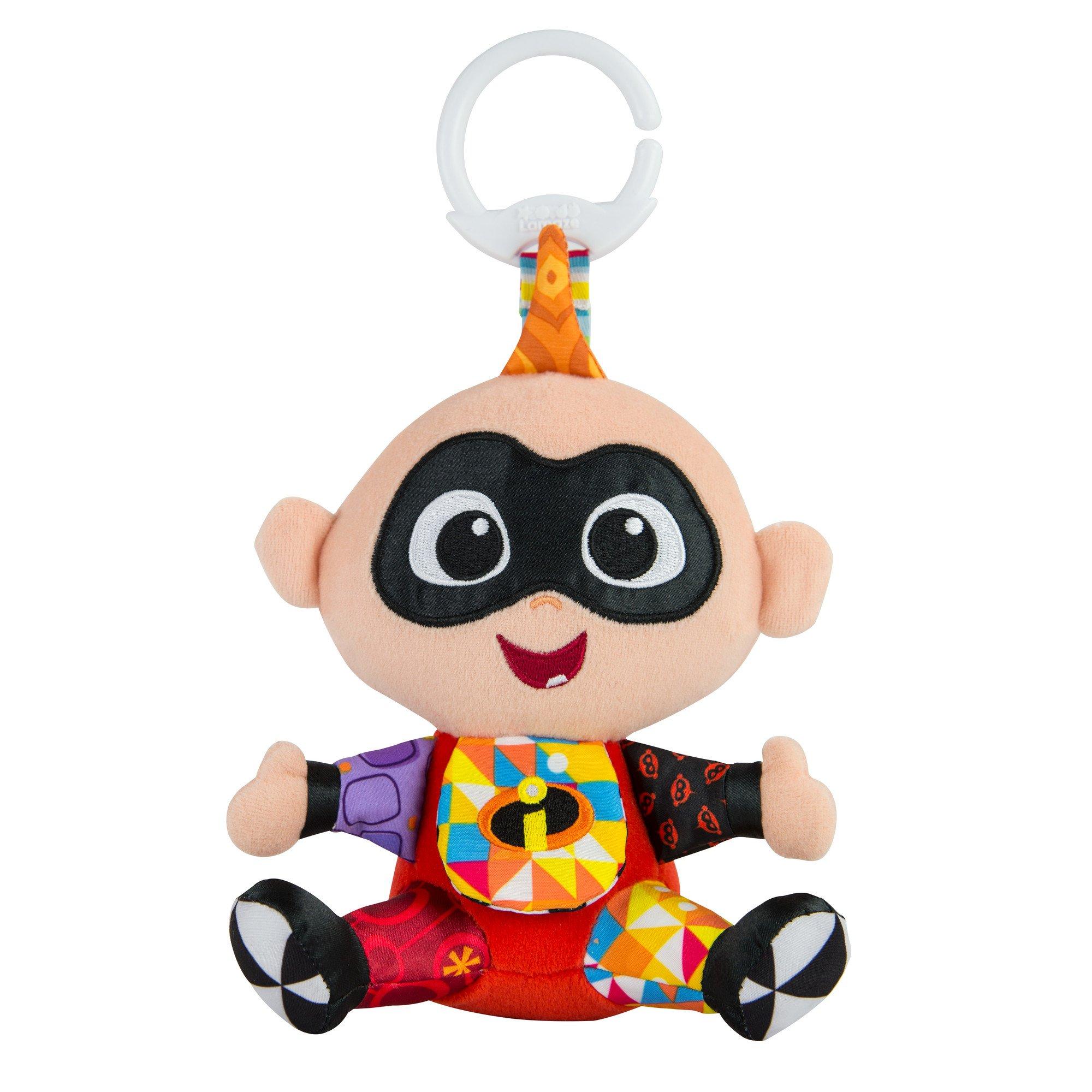 Lamaze Disney/Pixar Clip & Go Jack Jack Clip-On Stroller Toy by LAMAZE