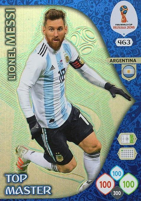 Adrenalyn XL FIFA World Cup 2018 Rusia – Lionel Messi parte superior Master Trading Card – Argentina # 463: Amazon.es: Deportes y aire libre