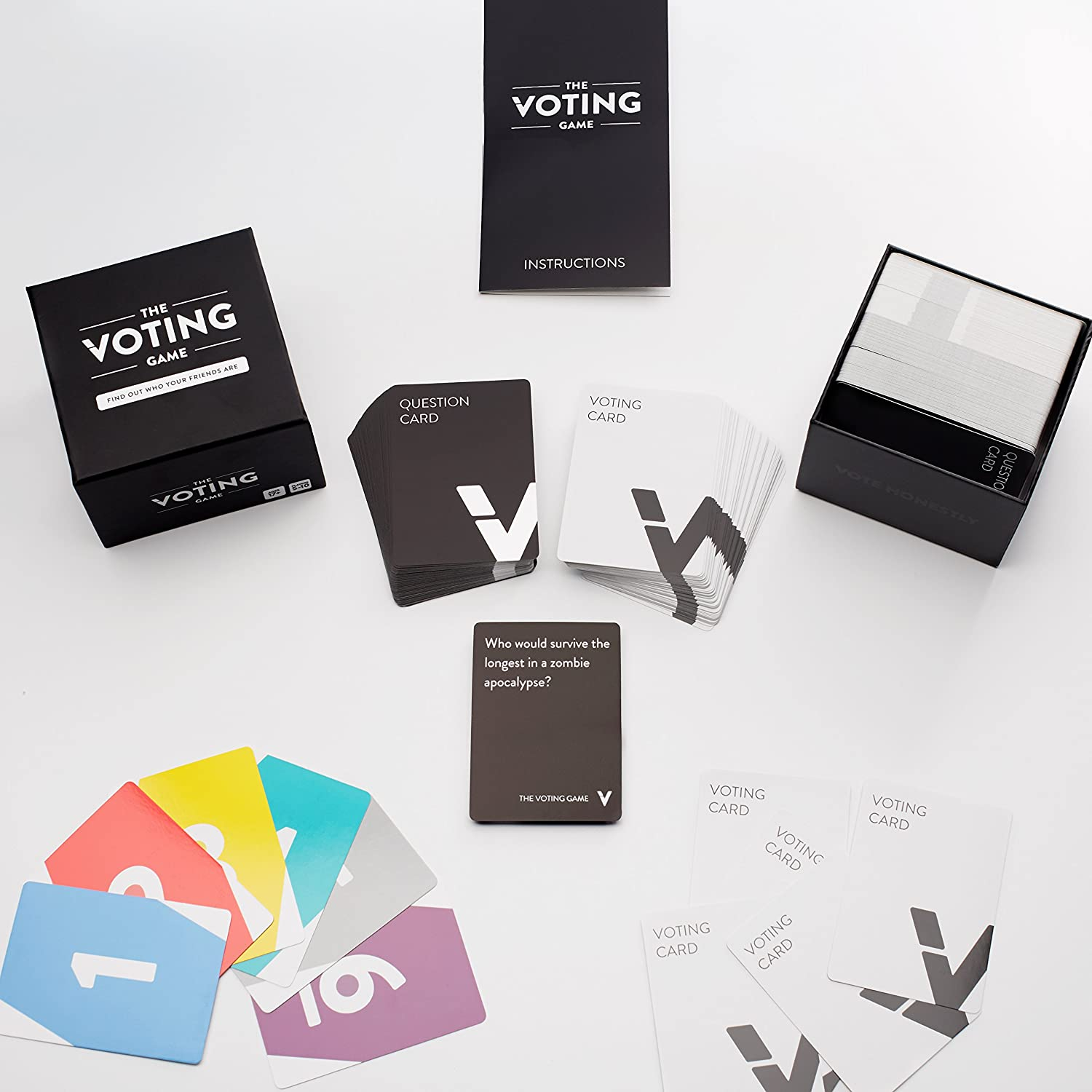 the voting game - board games for deploy soldiers