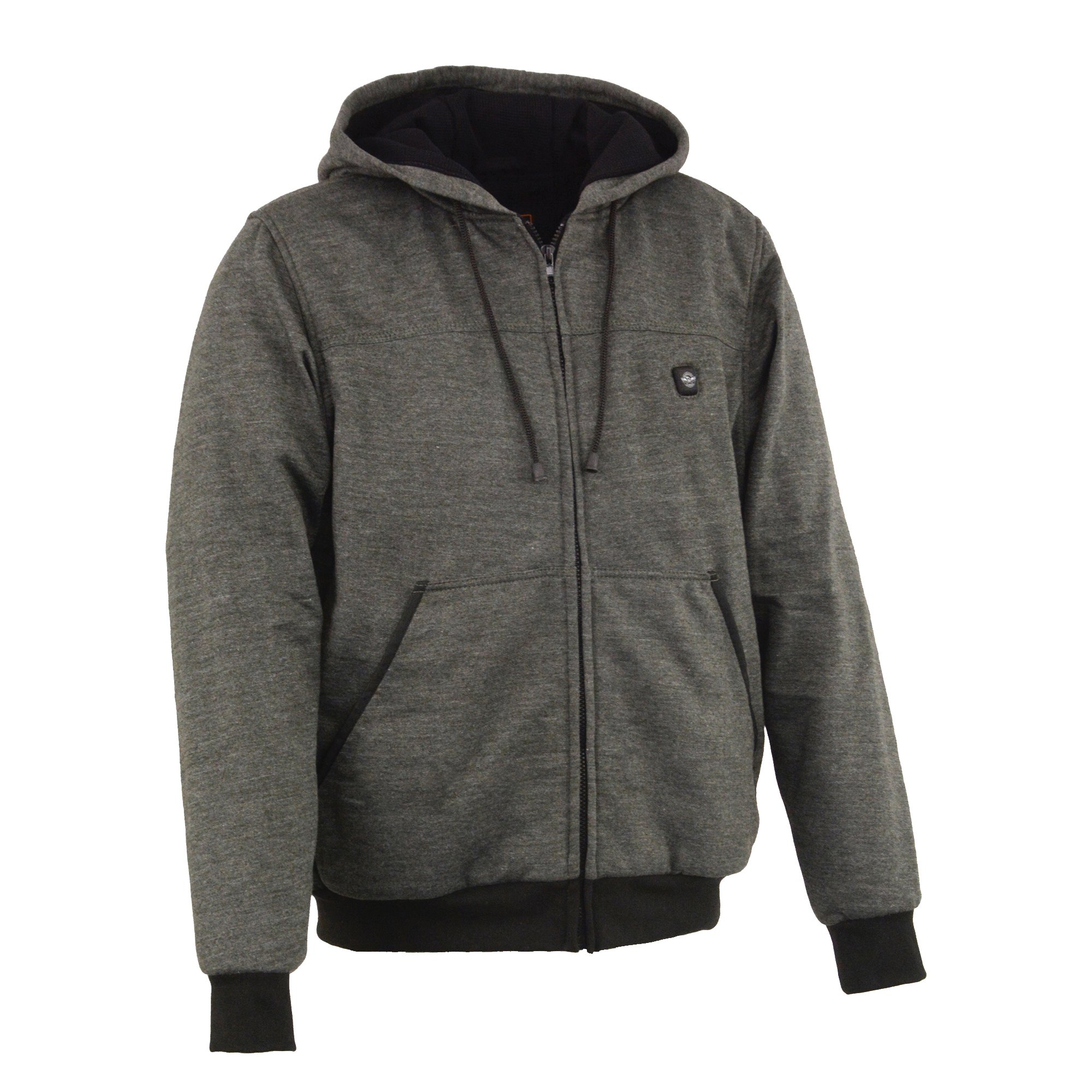 Milwaukee Performance Men's Heated Hoodie with Front and Back Heating Elements (Grey, X-Large)