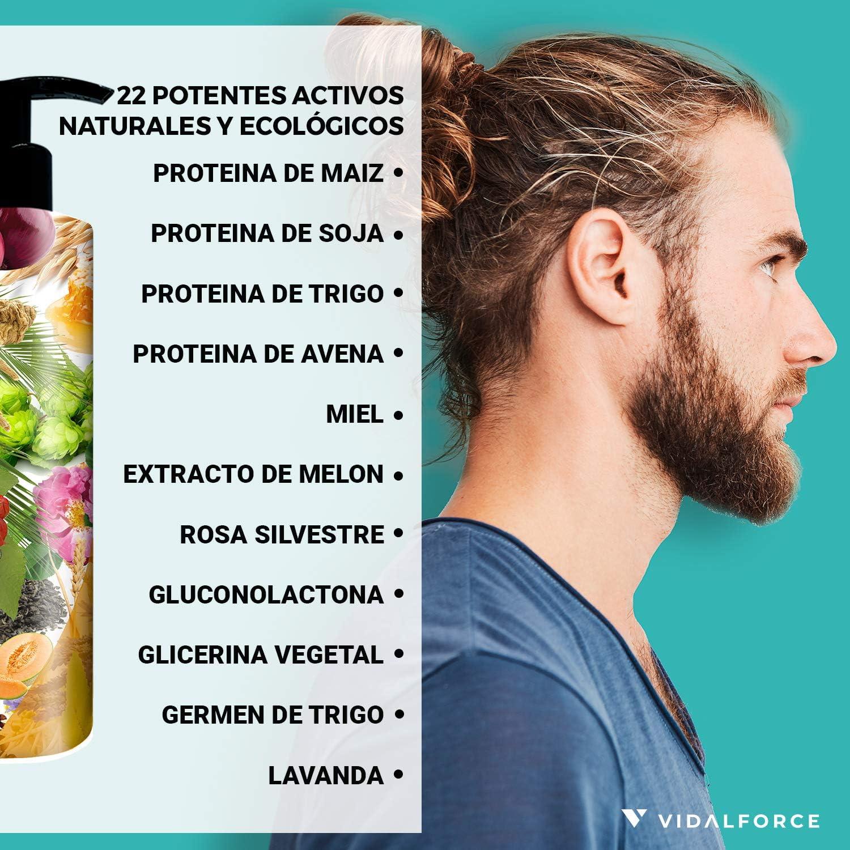 ULTIMATE ONION Champu cebolla con 22 Activos Naturales y Ecológicos - Cargados de vitaminas para el cabello y aceites esenciales naturales. Champu ...