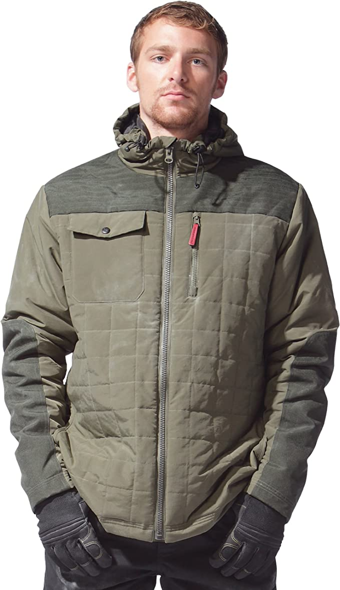 Caterpillar 1313036 Manteau Homme (Small) (Olive