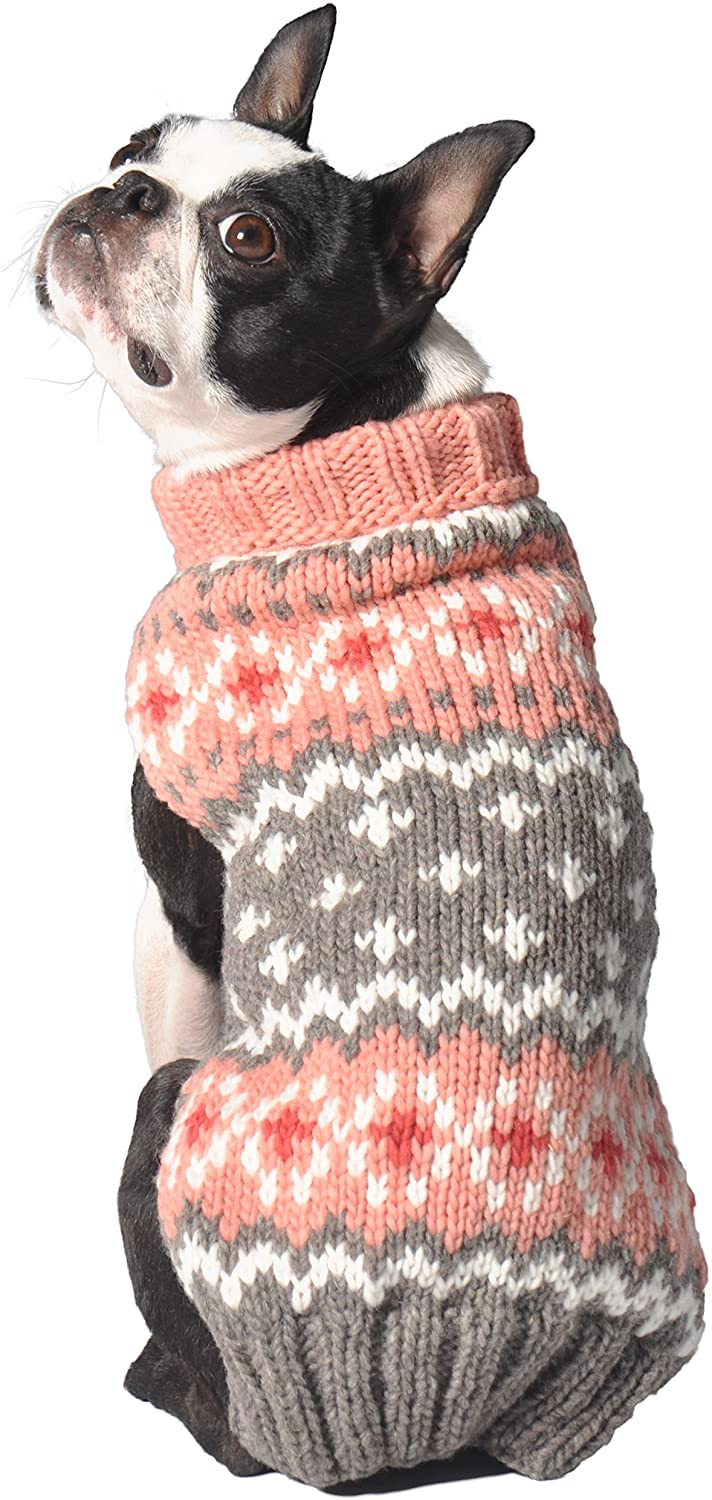 Large Chilly Dog Rose Fair isle Sweater