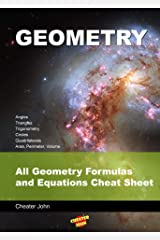 Geometry: All Geometry Formulas and Equations Cheat Sheet Kindle Edition
