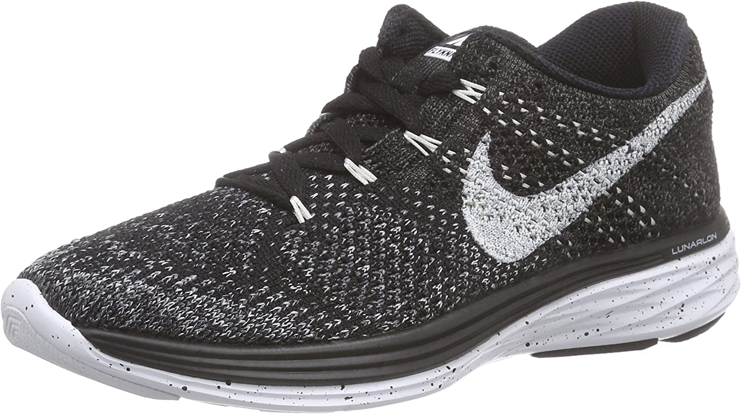 Amazon.com | Nike Women's Flyknit Lunar3 Black/White/Mdnght Fog/WLF Gry Running  Shoe 5.5 Women US | Running