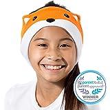 CozyPhones Kids Headphones Volume Limited with Thin Speakers & Super Soft Fleece Headband - Perfect Toddlers & Children's Ear