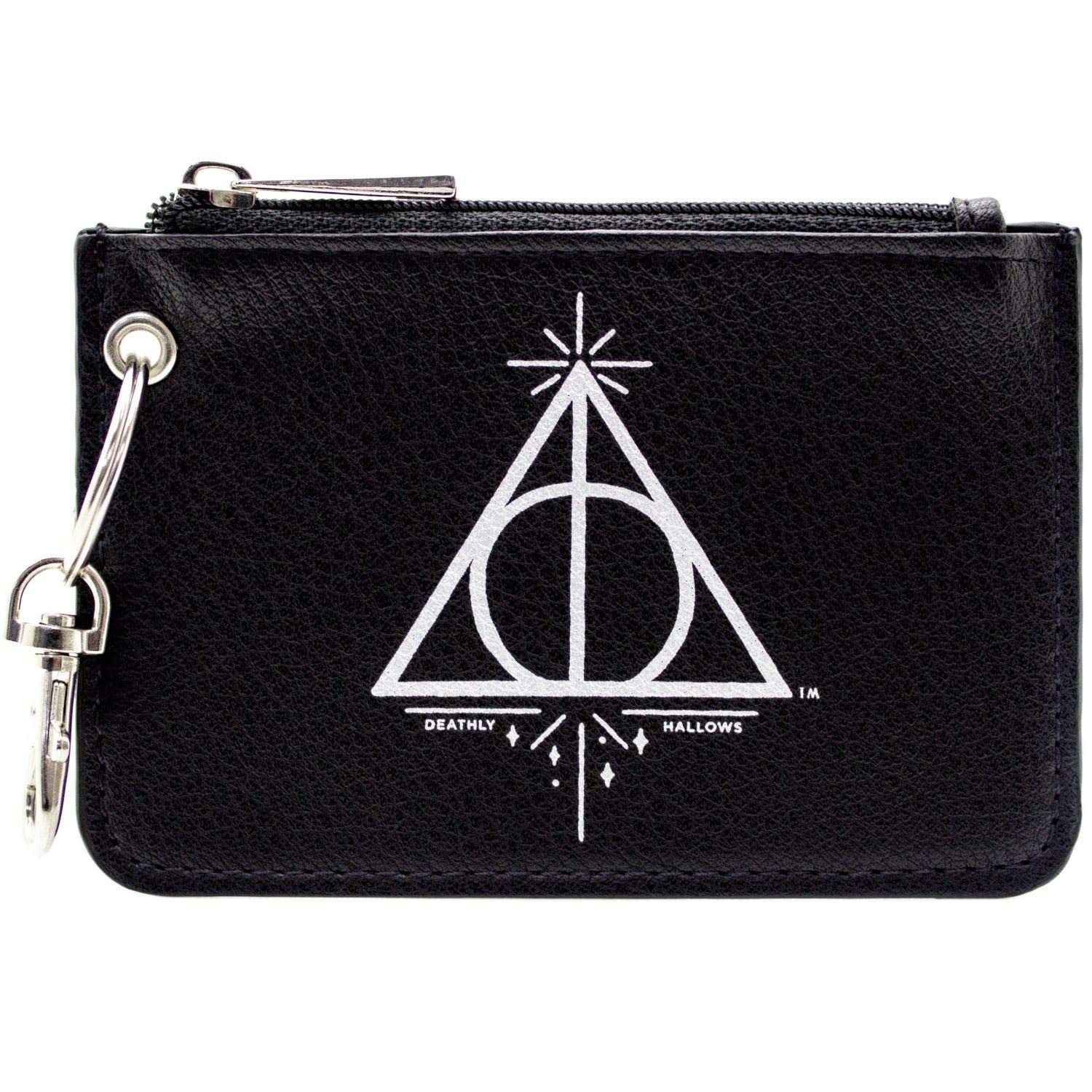NEW OFFICIAL WARNER HARRY POTTER MARAUDERS MAP BLACK COIN /& CARD TRIFOLD PURSE