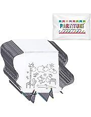 Partituki 25 Mochilas Infantiles para Colorear. Cada Una Incluye 5 Ceras de Colores. Ideal para Regalos de Fiestas de Cumpleaños
