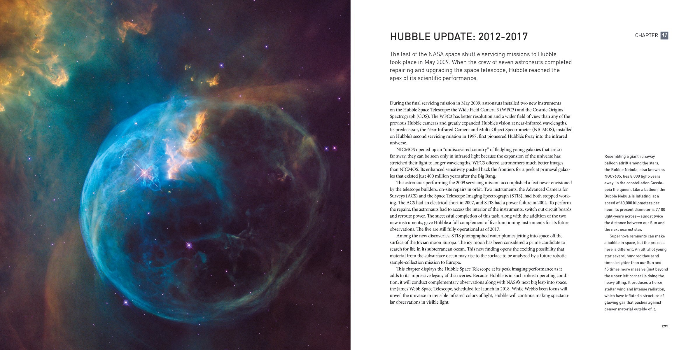 Hubbles Universe Greatest Discoveries And Latest Images Amazon - Heres hubbles first ever picture of the entire bubble nebula