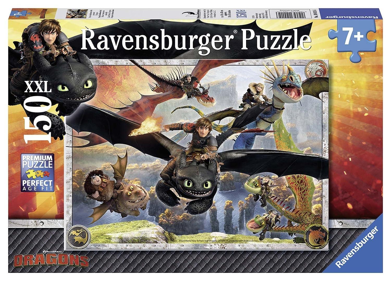 Puzzle 100 Teile Spiel Deutsch 2019 Leuchtende Dragons Puzzles & Geduldspiele