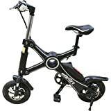 eDrift UH-E61-2 Folding Electric Mini Bike - 25 Mile Range 15 MPH