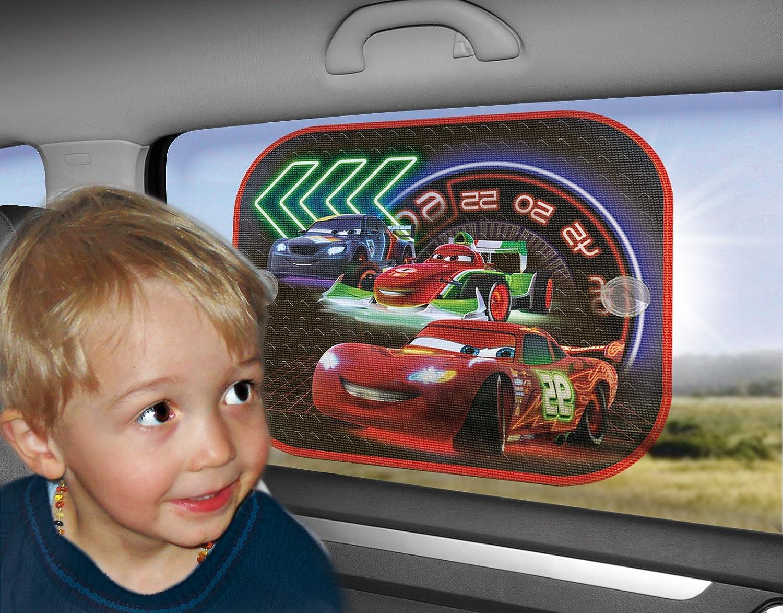 2 piezas 36x45 cm 26010 Joy Toy Star Wars Clone Wars cortinas desde el Sol a la m/áquina con ventosas