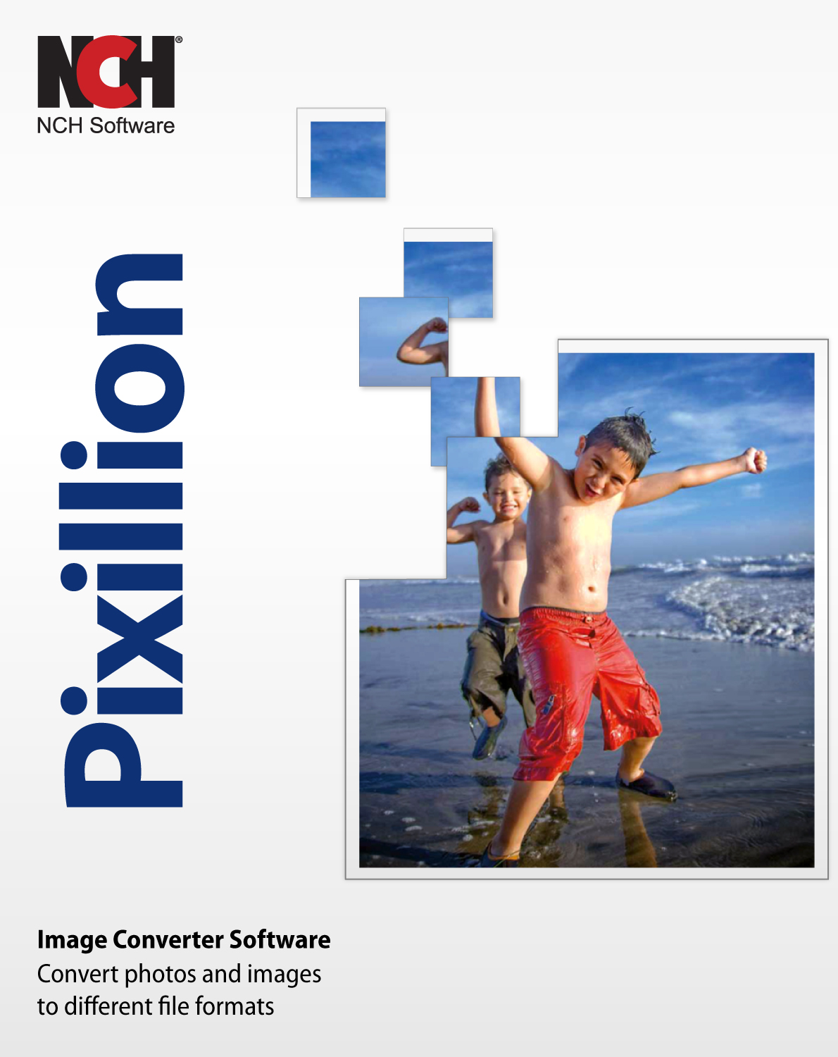 Pixillion Image Converter Software - Convert Photo and Image File Formats [Download] by NCH Software
