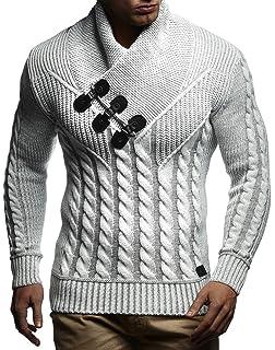 LEIF NELSON Herren Pullover Hoodie Strickpullover Sweatshirt Longsleeve  Strickjacke Winterpullover Pulli LN5515 ca69f8683c