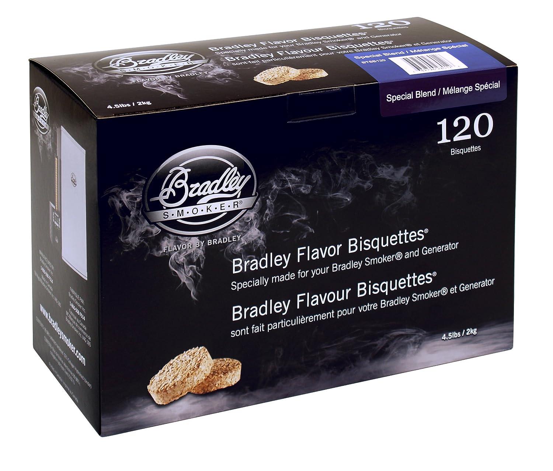 Bradley Smoker BTSB120 Special Blend Bisquetten 120 Pack