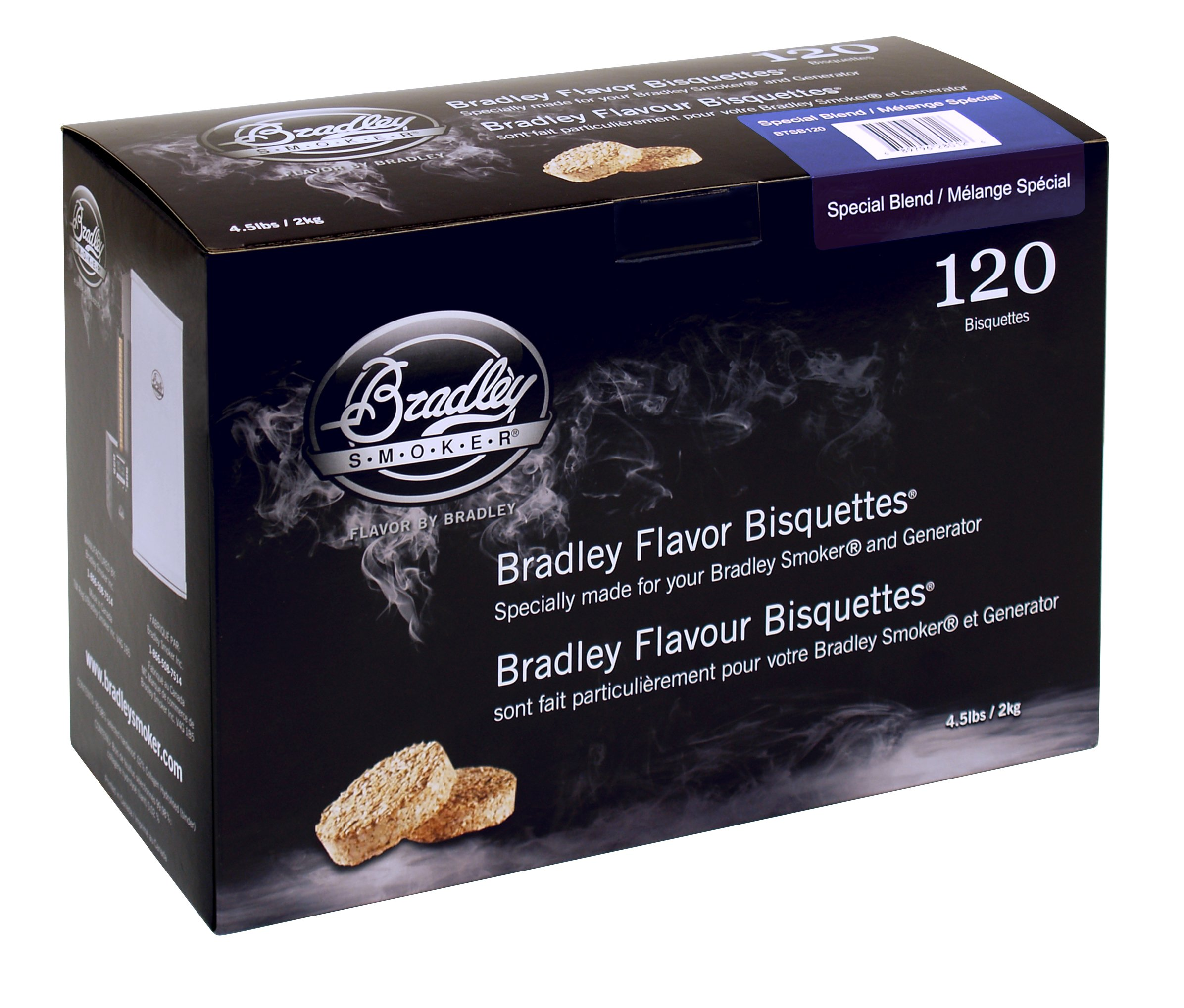Bradley Smoker Special Blend 120 pack by Bradley Smoker