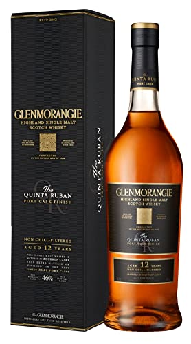 Glenmorangie Quinta Ruban Single Malt Scotch Whisky, 70 cl